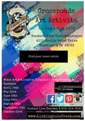 Crossroads Art Activité
